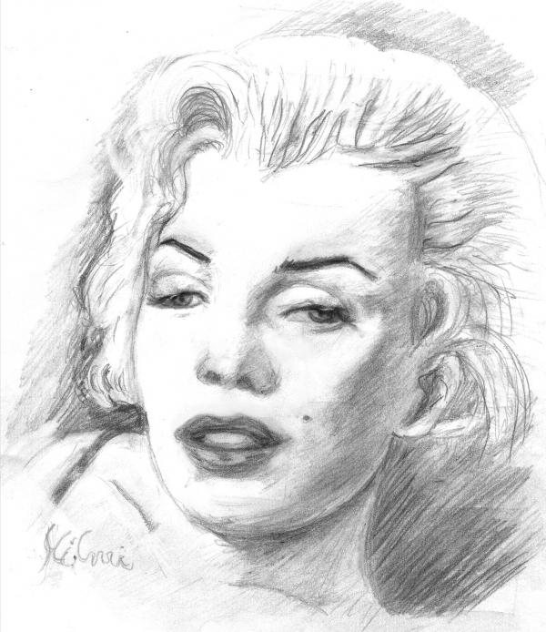 Marilyn Monroe par arthylmy